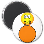 Space hopping emoticon   fridge_magents_magnet