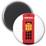 Phone box emoticon classic red  fridge_magents_magnet