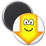 Down emoticon arrow  fridge_magents_magnet