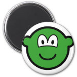 Colored buddy icon green  fridge_magents_magnet