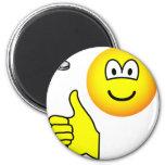 Coin flip emoticon   fridge_magents_magnet