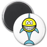 Dolphin smile   fridge_magents_magnet