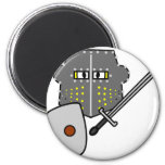 Fighting Knight emoticon   fridge_magents_magnet
