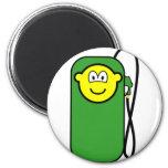 Gas station buddy icon Petrol pump  fridge_magents_magnet