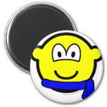 Blue belt buddy icon   fridge_magents_magnet