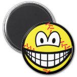 Baseball smile   fridge_magents_magnet