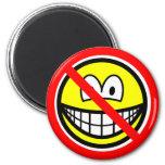 No sad smilies   fridge_magents_magnet