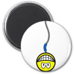Bungee jumping smile   fridge_magents_magnet