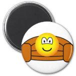 Couch potato emoticon   fridge_magents_magnet