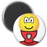 Gumball machine emoticon   fridge_magents_magnet