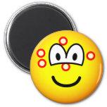 Acne emoticon   fridge_magents_magnet
