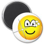 Shiny emoticon   fridge_magents_magnet