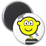 Curling buddy icon   fridge_magents_magnet