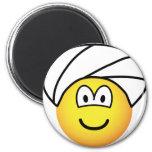 Turban emoticon   fridge_magents_magnet
