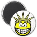 Smile of liberty   fridge_magents_magnet