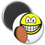 Bodhran smile   fridge_magents_magnet