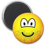 Stubbly beard emoticon   fridge_magents_magnet