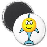 Dolphin emoticon   fridge_magents_magnet