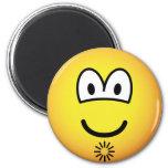 Asshole emoticon   fridge_magents_magnet