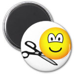Being cut out emoticon   fridge_magents_magnet