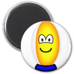 Rugby ball emoticon   fridge_magents_magnet