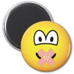 Silent emoticon   fridge_magents_magnet