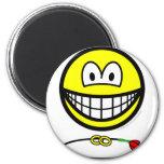 Ring bearer smile   fridge_magents_magnet