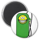 Gas station smile Petrol pump  fridge_magents_magnet
