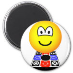 Dance dance revolution emoticon   fridge_magents_magnet