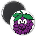 Grapes emoticon   fridge_magents_magnet