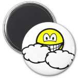 Partly cloudy smile   fridge_magents_magnet