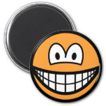 Colored smile orange  fridge_magents_magnet