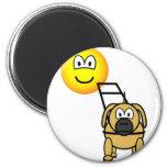 Guide dog emoticon   fridge_magents_magnet