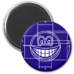 Blueprint smile   fridge_magents_magnet