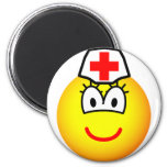 Nurse emoticon   fridge_magents_magnet