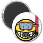 Snorkel smile   fridge_magents_magnet