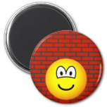 Against the wall emoticon   fridge_magents_magnet