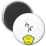 Mistletoe buddy icon boy  fridge_magents_magnet