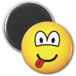 Happy face emoticon   fridge_magents_magnet