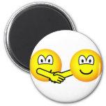 Hands shaking emoticons   fridge_magents_magnet