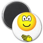 Paper emoticon rock - paper - scissors  fridge_magents_magnet
