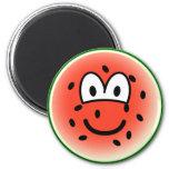 Watermelon emoticon   fridge_magents_magnet