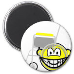 Wheelchair buddy icon Side view  fridge_magents_magnet