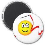 Rhythmic gymnastics emoticon Olympic sport Artistic gymnastics fridge_magents_magnet