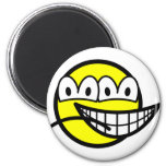 Two faced smile   fridge_magents_magnet