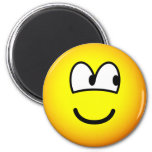 Looking right emoticon   fridge_magents_magnet