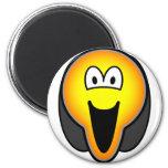Scream emoticon   fridge_magents_magnet