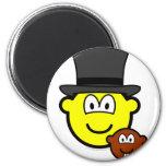 Groundhog day buddy icon   fridge_magents_magnet