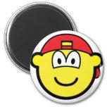 Backward cap buddy icon   fridge_magents_magnet
