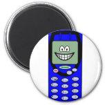 Mobile phone smile   fridge_magents_magnet